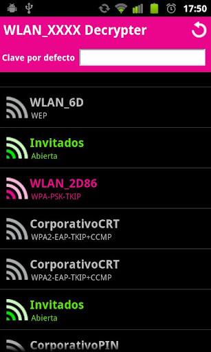 WLAN XXXX Decrypter