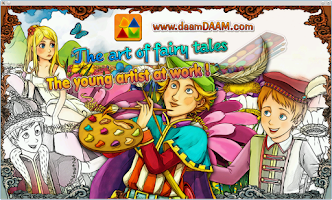 Screenshot of Fairy Tales Artist Coloring