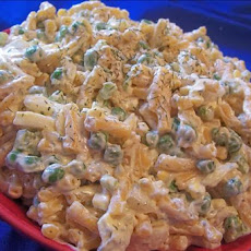 Macaroni and Cheese Pea Salad