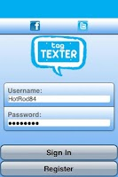 Screenshot of Tag Texter