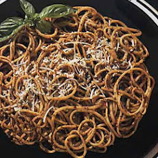 Linguine with Sun-Dried Tomato Pesto