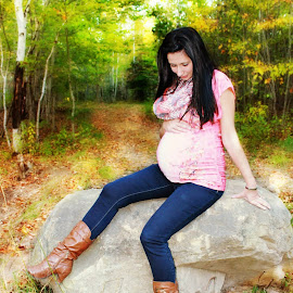 by Nancy Russell - People Maternity