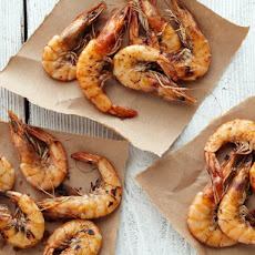 Ginger-Soy-Lime Marinated Shrimp