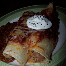 Cran-Turkey Enchiladas