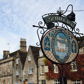 Northleach by Diane Dunn - City,  Street & Park  Historic Districts ( cotswolds )
