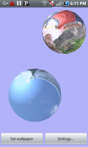 Photo Spheres Wallpaper
