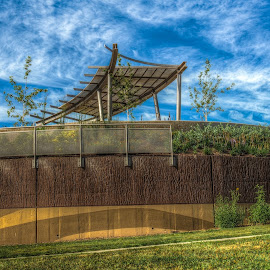 Union Plaza Park by Nick Neben - City,  Street & Park  City Parks ( lincoln, hdr, park, nikon, nebraska, city )