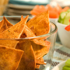 Chili Pepper Baked Tortilla Chips
