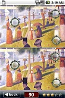 Screenshot of Painting Findings