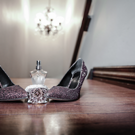 Shoes by Lodewyk W Goosen-Photography - Wedding Details ( love, kiss, married, wedding, hitch, couple, bride and groom, marriage )