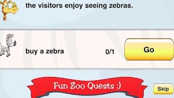 Screenshot of Zoo Club