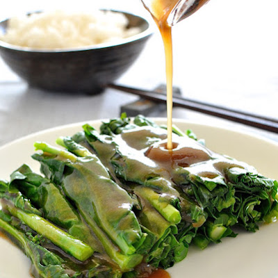Restaurant Style Chinese Broccoli with Oyster Sauce