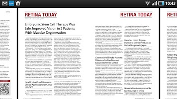 Screenshot of Retina Today