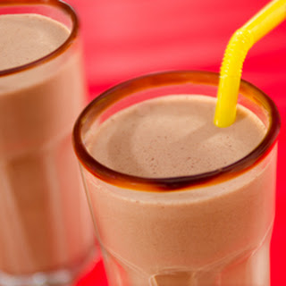 Double Chocolate-peanut Butter Milkshakes