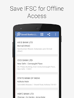 Screenshot of Find Bank IFSC Code India