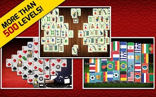 Screenshot of Mahjong Solitaire 2