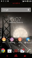 Screenshot of XPERIA™ THEME NOIR