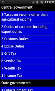 income tax guide - screenshot