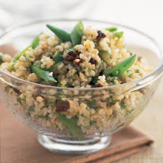 Bulgur Salad with Lemon, Peas & Mint