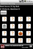 Screenshot of Halloween Matching