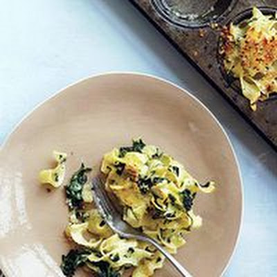 Spinach-and-Egg Noodle Casserole