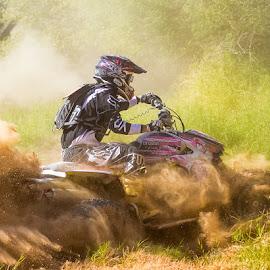 Got Sand by Jobe1 Photography - Sports & Fitness Motorsports ( racing, atv racing, atv race, atv, race )
