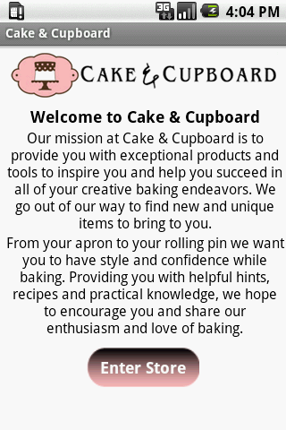 Cake And Cupboard