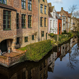 Bruges IV by Pascal Hubert - City,  Street & Park  Neighborhoods