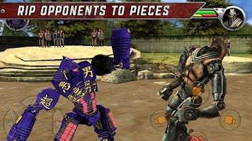 Screenshot of Real Steel Friends