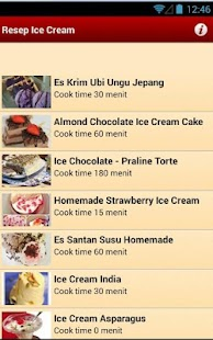 Resep Ice Cream - screenshot