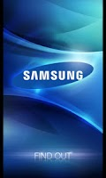 Screenshot of Samsung Find Out