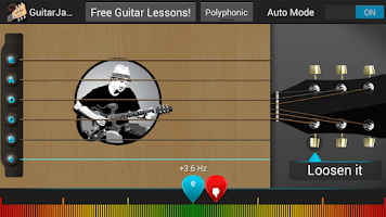 Screenshot of Guitar Jamz Polyphonic Tuner