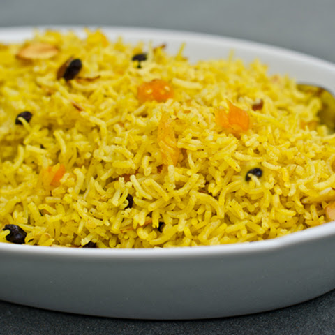Basmati Pilaf with Dried Fruits and Almonds