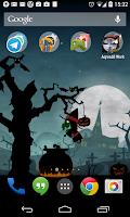 Screenshot of Halloween Live Wallpaper world