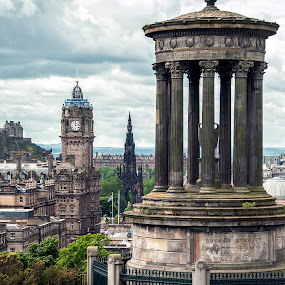 Edinburgh by Gabriel Catalin - Buildings & Architecture Statues & Monuments