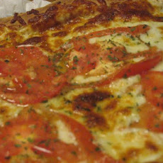 Tomato White Pizza