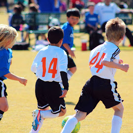 kids by Fred Regalado - Sports & Fitness Soccer/Association football (  )