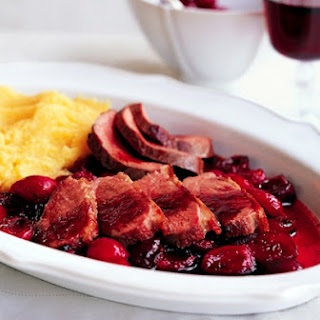 Duck With Cherries In Chianti