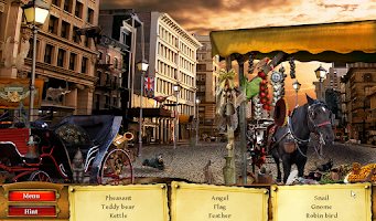 Screenshot of Hidden Object Mystery Travels