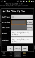 Screenshot of Advanced Phone Log Pro