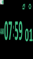 Screenshot of Digital Table Clock