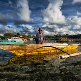 Fisherman! by Ferdinand Ludo - People Portraits of Men ( cebu city, proud to be fisherman, mactan island, cordoba )