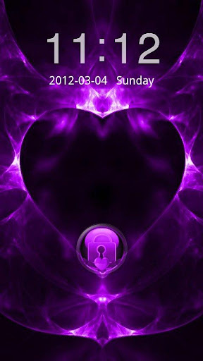 GO Locker Valentines Purple