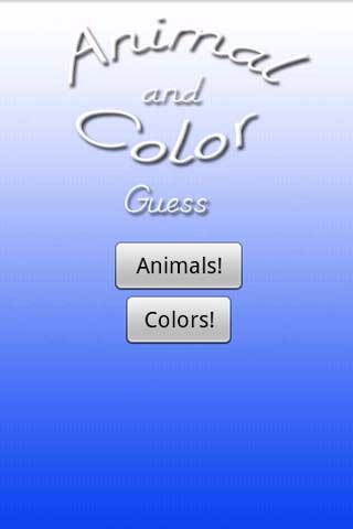 Animal and Color Guess
