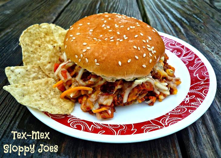 Tex-Mex Sloppy Joes Recipe | Yummly