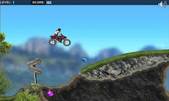 Screenshot of Mountain Moto : Racing Moto