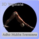 Yoga Asana : Downdog icon