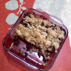 Blueberry Buckle (Vegan)