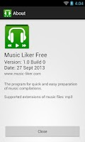 Screenshot of Music Liker Free