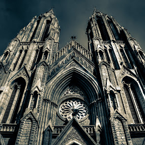 Above and Beyond by Madhujith Venkatakrishna - Buildings & Architecture Places of Worship (  )